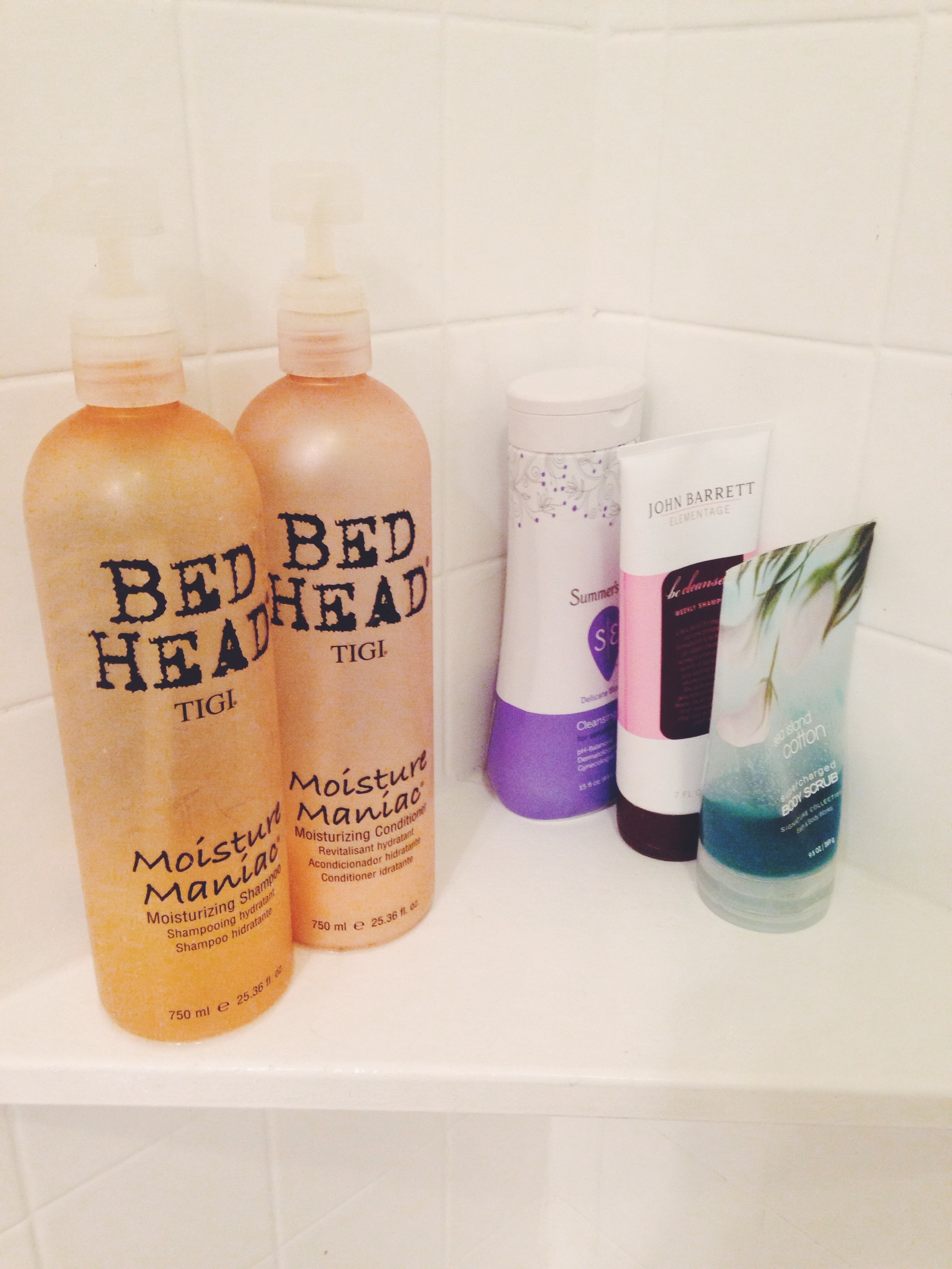 What s in my shower allison kehoe for Bathroom essentials