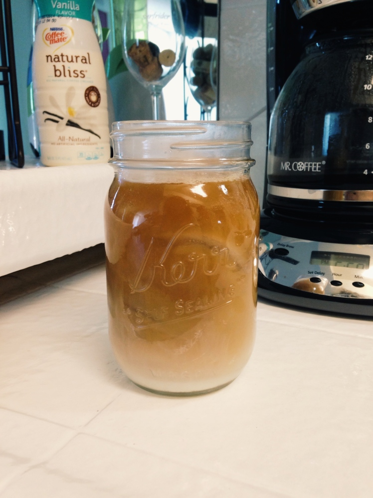 make your own iced coffee, vanilla iced coffee recipe, vanilla iced coffee, iced coffee, iced coffee recipe, diy iced coffee, natural bliss, coffeemate natural bliss, coffeemate natural bliss iced coffee, natural bliss iced coffee recipe, vanilla natural bliss