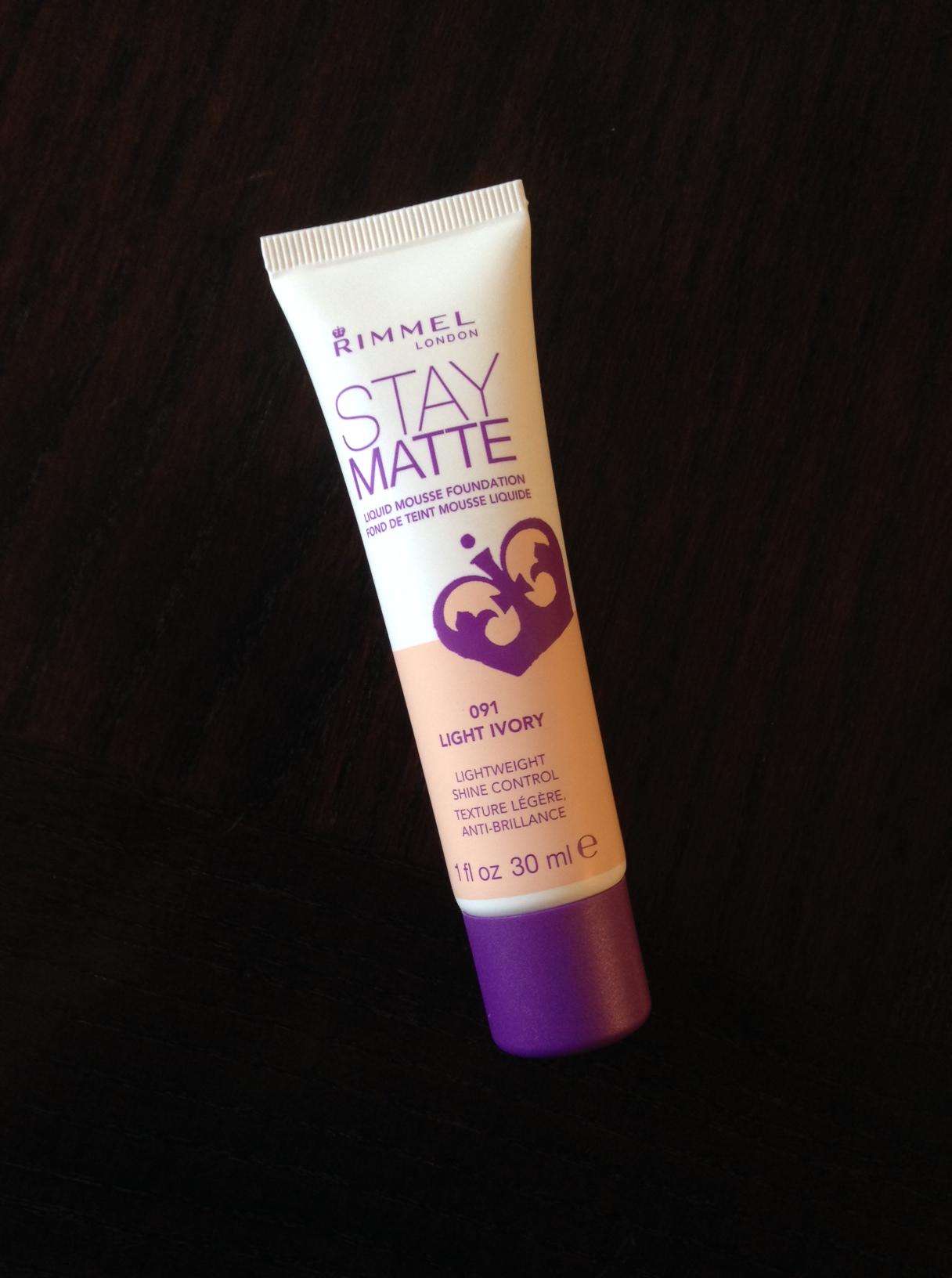Rimmel Stay Matte Mousse Foundation Review Allison Kehoe