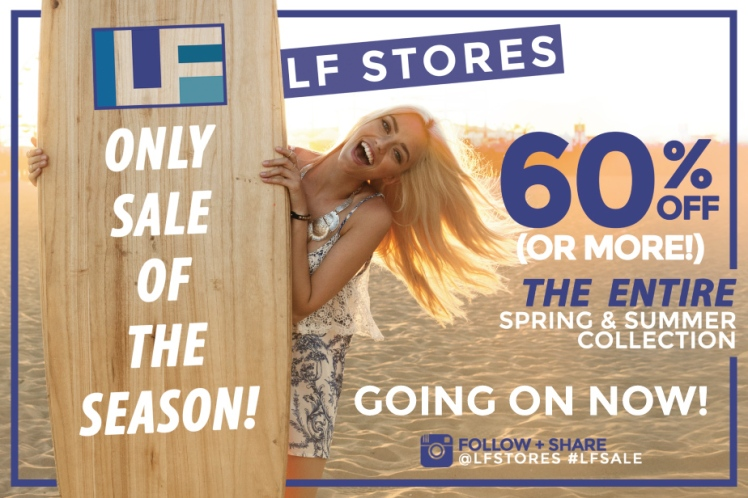 lf only sale of the season, lf sale 2014, lf sale date, lf sale august, lf summer sale, lf sale dates, lf only sale of the season date, lf stores sale