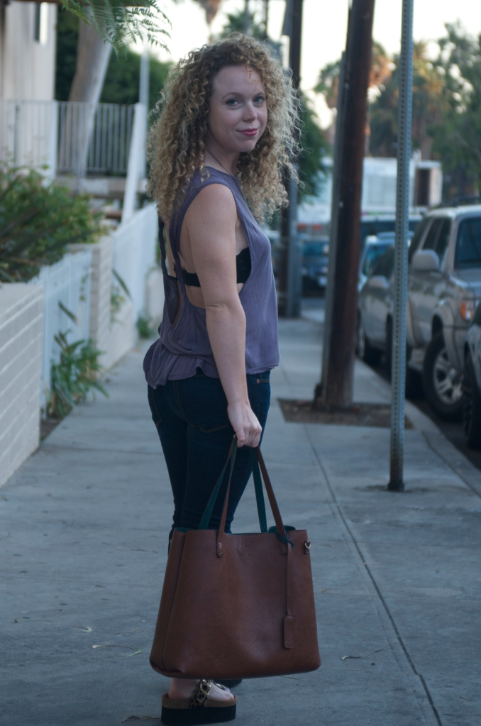 the perfect tote, the perfect bag, best work tote, best work bag, perfect work tote, perfect work bag, leather tote, best leather tote, madewell tote dupe, vegan urban outfitters tote, reversible tote, best bags for fall, best totes for fall, transition to fall, fashion transition to fall, best outfits to transition to fall, madewell transport all dupe