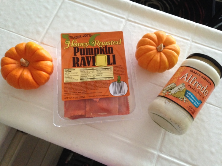 pumpkin ravioli, pumpkin ravioli trader joe's, pumpkin ravioli recipes, easy pumpkin recipes, easy pumpkin trader joe's recipes, pumpkin ravioli alfredo sauce, pumpkin ravioli sauce, easy pumpkin ravioli recipes, quick eats, allison kehoe blogger, weezywee blogger, pumpkin season, pumpkin recipes, fall recipes, easy fall pasta recipes, fall pasta recipes, easy fall pumpkin recipes