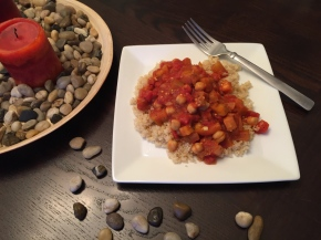 eggplant and chickpea stew, eggplant stew, chickpea stew, healthy dinner ideas, healthy vegetarian dinner ideas, vegetarian dinner ideas, vegetarian, dinner ideas, chickpea recipes, eggplant recipes, stew recipes, healthy stew recipes