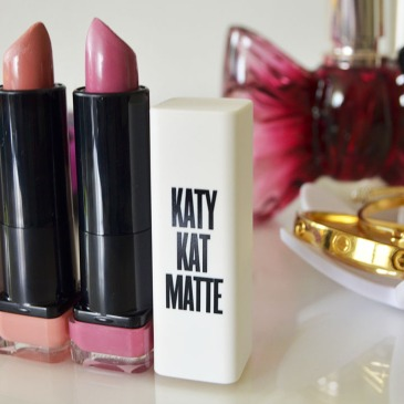 Katy Kat Matte Covergirl Lipstick Collection Swatches